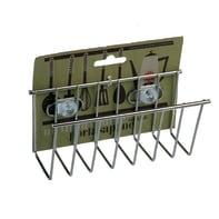 Barra sottopensile porta sapone e spugna  in metallo 14 x 14 x 6 cm