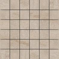 Mosaico Taiga mandorlo H 30 x L 30 cm beige