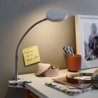 Lampada da scrivania Moderno Qi bianco , INSPIRE