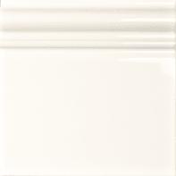 Decoro Skirting L 15 x H 15 cm bianco