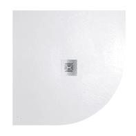 Piatto doccia resina Logic 90 x 90 cm bianco