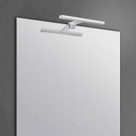 Applique moderno Slim con kit multi attacco cromo, in alluminio, 30x8.2 cm, INSPIRE