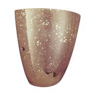 Applique glamour Sky rame, in vetro,  D. 14 cm 14 cm, BRILLIANT