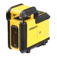 Livella laser STANLEY Livella laser Cross360 raggio verde giallo / dorato