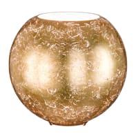 Lampada da tavolo Fara oro, in vetro, E27 MAX 60W IP20 WOFI