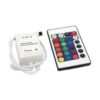 Telecomando strisce led rgb, multicolore,