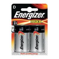 Pila LR20 D ENERGIZER MAX 2 batterie