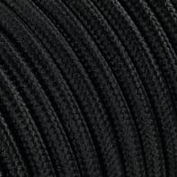 Cavo tessile MERLOTTI 3 fili x 0,75 mm² nero 10 metri