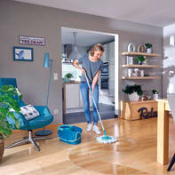 Mocio LEIFHEIT Set Clean Twist Disc Mop Ergo in poliestere / poliammide