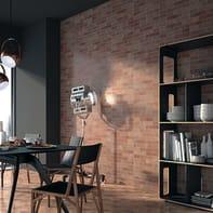 Piastrella per rivestimenti Brick L 34 x H 48 cm rosso
