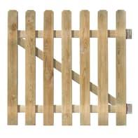 Cancello / portello FOREST STYLE CANCELLETTO MUSTANG 100X100CM in legno L 1 x H 1 m