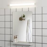 Applique Tonota LED integrato bianco, in metallo, 59x5.6 cm, INSPIRE