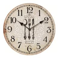 Orologio Bon appetit 50x50 cm