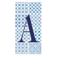 Lettera Arabesque A , 7.5 x 15 cm