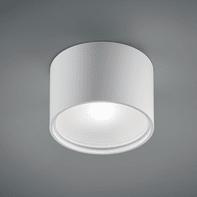 Plafoniera design Cube round LED integrato bianco, in alluminio,  D. 15.7 cm