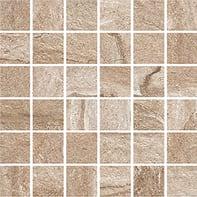 Mosaico Duomo Noce H 30 x L 30 cm marrone