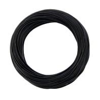 Cavo elettrico nero fs17  1 filo x 4 mm² 25 m LEXMAN Matassa