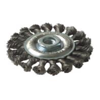 Spazzola TIVOLY in acciaio Ø 95 mm