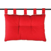 Cuscino Testata letto Duo rosso 70x