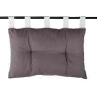 Cuscino Testata letto Duo grigio 70x70 cm