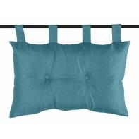 Cuscino Testata letto Bea turchese 70x45 cm
