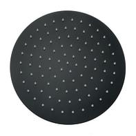 Soffione doccia Mirian 30 x 30 cm in acciaio inossidabile nero dipinto MARCO MAMMOLITI