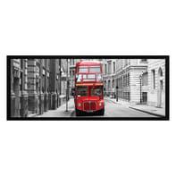 Stampa incorniciata Bus 20x50 cm