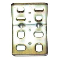 Piastra angolare STANDERS in acciaio zincato L 32 x Sp 2 x H 30 mm  4 pezzi