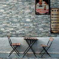 Rivestimento Murales 16 x 40 cm sp. 8.5 mm grigio