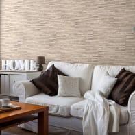 Rivestimento Wall L 63 x H 18 cm grigio e beige