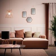 Lampada da comodino Design Carlton 2 nero , in tela, EGLO