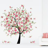 Sticker Flowering tree 9x106 cm