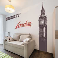 Sticker Big Ben 200x30 cm