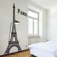 Sticker Eiffel Tower 9x106 cm