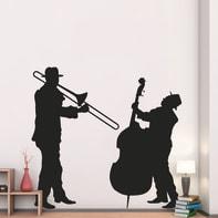 Sticker Jazz duo 9x106 cm