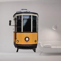 Sticker Tram 9x106 cm