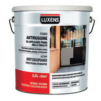 Primer LUXENS base acqua interno / esterno antiruggine 2.5 L