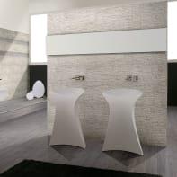 Rivestimento Granito Carrara L 62 x H 31 cm bianco