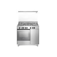Cucina freestanding accensione elettronica con manopole DE'LONGHI DEMX 96 B5 ED