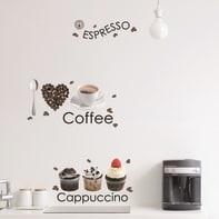 Sticker Espresso 6x37.5 cm