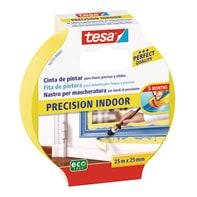 Nastro mascherante TESA Precision Indoor 25 m x 25 mm linee dritte