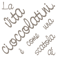 Sticker Cioccolatini 31.5x34 cm