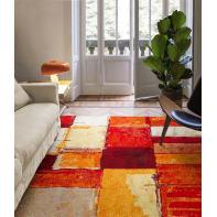 Tappeto Gallery square A  , rosso, 60x120