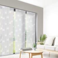 Pannello giapponese INSPIRE resinato Cacao grigio 60x300 cm