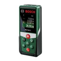 Misuratore laser classe 2 BOSCH PLR 40C distanza max 40 m