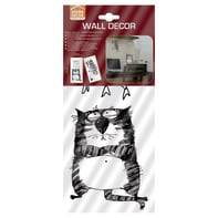 Sticker Ink Cats 15.5x34 cm