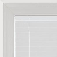 Tendina a vetro regolabile Klimt bianco tunnel 58x160 cm