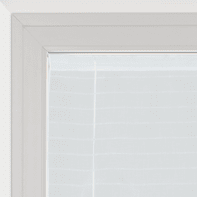 Tendina a vetro regolabile Klimt bianco tunnel 58 x 230 cm