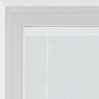 Tendina a vetro regolabile Klimt bianco tunnel 58x230 cm