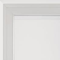 Tendina vetro Leo bianco tunnel 60 x 120 cm